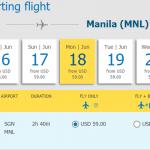 Vé từ Hồ Chí Minh - Manila chỉ từ 59 USD