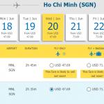 Vé Manila - Hồ Chí Minh chỉ từ