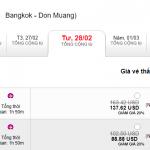 Vé Hà Nội - Bangkok giảm giá 20%