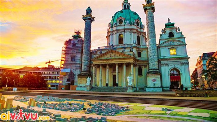 Ghé thăm thành phố Vienna năm 2018