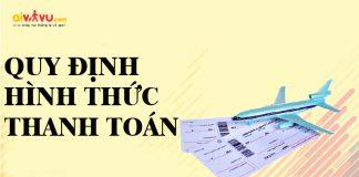 Aivivu - Quy định và hình thức thanh toán