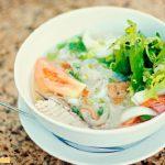 Tinh tế món bún sứa Nha Trang
