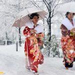 Ngày Tết ở Nhật Bản nhiệt độ xuống rất thấp