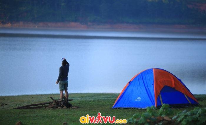 Không gian lý tưởng cho bạn cắm trại tại Đà Lạt