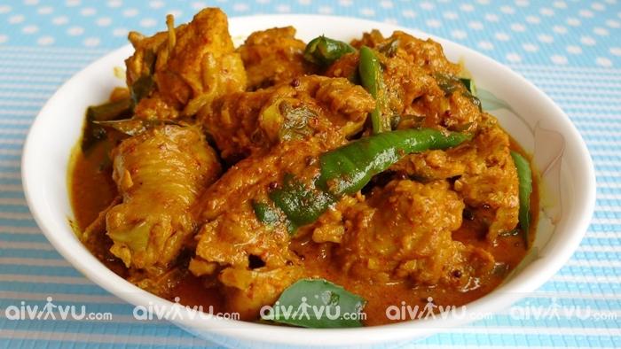 Burmese curry hay cà ri Myanmar