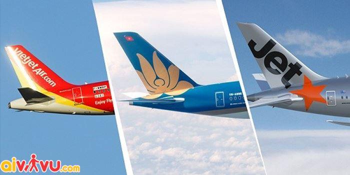 Nên mua vé máy bay Tết của Hãng hàng không nào?
