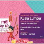 Malindo Air mở bán vé chỉ từ 99 USD/chiều siêu rẻ