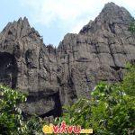 Núi kim sơn uy nghi