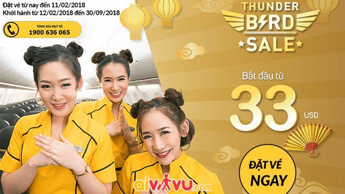 Nok Air mở bán vé rẻ đi Thái Lan chỉ từ 33 USD