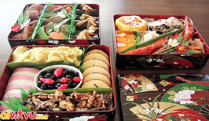 Món ăn truyền thống ngày Tết ở Nhật Bản