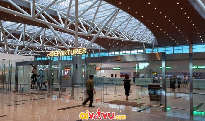 Khu vực nhà ga sân bay