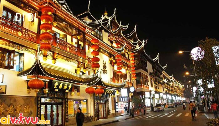 Phố cổ ở Nam Kinh