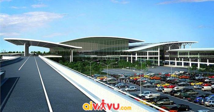 Sân bay đước xây dựng vào năm 1977