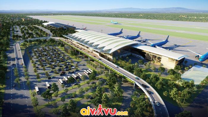 Sân bay có 2 đường băng