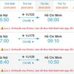 Giá vé Hà Nội đi Hồ Chí Minh