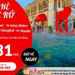 Air Asia khuyến mãi vé bay chỉ từ 31 USD