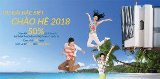 Vietnam Airlines giảm 50% giá vé