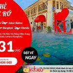 Air Asia khuyến mãi giá vé chỉ từ 31 USD