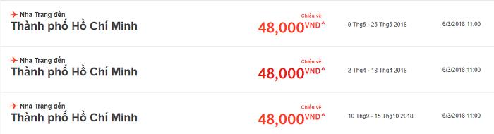 Jetstar khuyến mãi vé bay chỉ từ 48.000