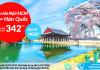 Korean Air khuyến mại vé máy bay đi Seoul giá rẻ