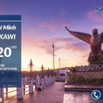 Hành trình bay từ Hồ Chí Minh đi Langkawi chỉ mất 120 USD