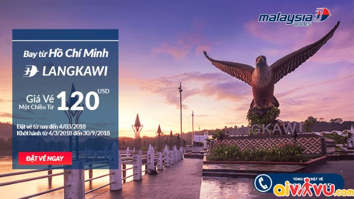 Malaysia Airlines khuyến mại vé bay chỉ từ 95 USD