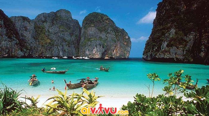 Bãi biển Maya, Koh Phi Phi Le