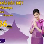 Thai Airways mở bán vé khứ hồi từ 136 USD