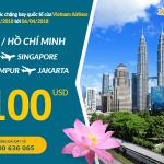 Vietnam Airlines mở bán vé khứ hồi bay quốc tế từ 100 USD