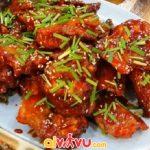 Món ăn cay bỏng lưỡi Hàn Quốc