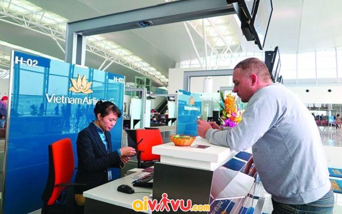 Vietnam Airlines có 3 hình thức làm thủ tục