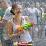 Lễ hội té nước của Thái Lan mang ý nghĩa gột rửa để chào đón năm mới