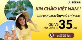 Chương trình khuyến mại hãng Nok Air