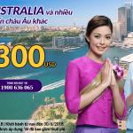 Chương trình khuyến mại Thai Airways