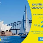 Cebu Pacific mở bán vé máy bay đi Úc khuyến mại