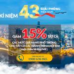 Vietnam Airlines giảm giá vé đến 15%