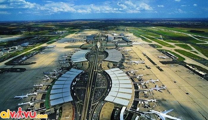 Sân bay Charles de Gaulle - Pháp