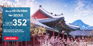 Đặt vé máy bay đi Seoul - Hàn Quốc khuyến mại