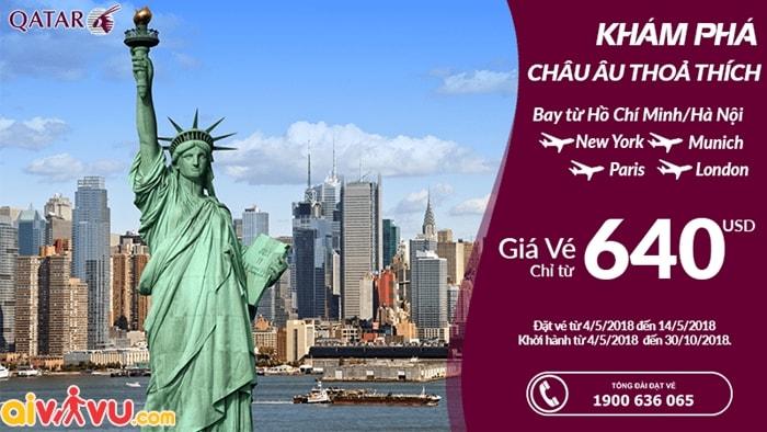 Khuyến mại hãng Qatar Airways