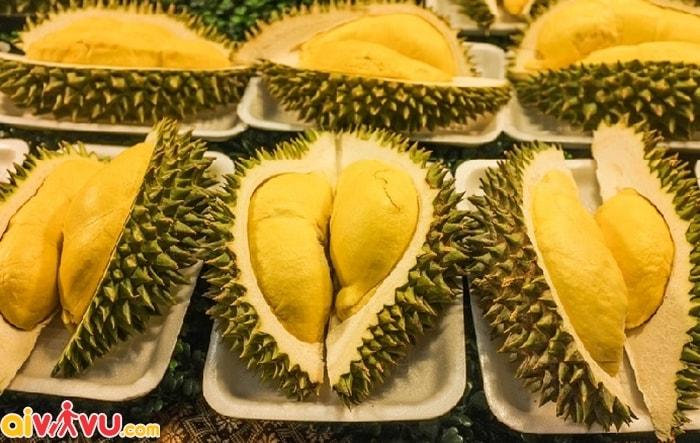 Mang theo các trái cây có mùi lên máy bay