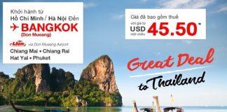 Chương trình khuyến mại Thai Lion Air