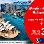 Khuyến mại hãng Malaysia Airlines
