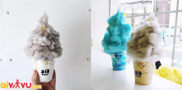 Những cây kem đa dạng như kẹo