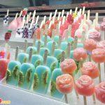Kiểu kem mát lạnh với nguyên liệu từ hoa quả tươi