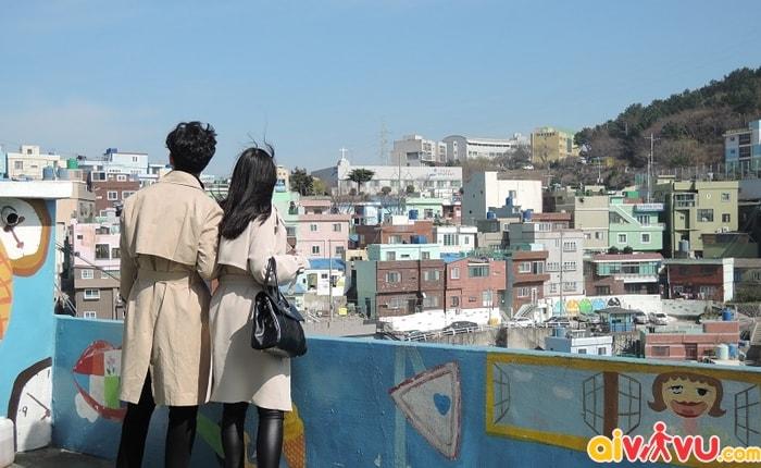Ghé thăm làng Gamcheon - Pusan (Hàn Quốc)