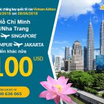 Chương trình KM Vietnam Airlines tháng 6