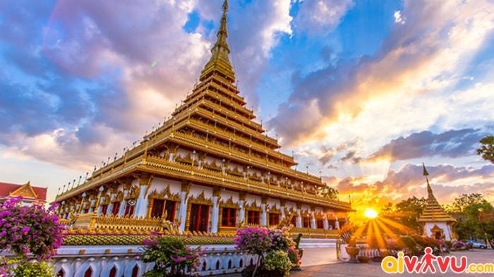 Những điểm đến đẹp ở thành phố Khon Kaen