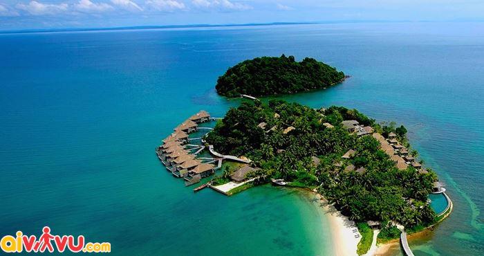 Nghỉ mát trên đảo Song Saa Private
