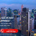 Giảm 20% giá vé máy bay đến Philippines