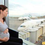 Hành khách có thai có nên đi máy bay?